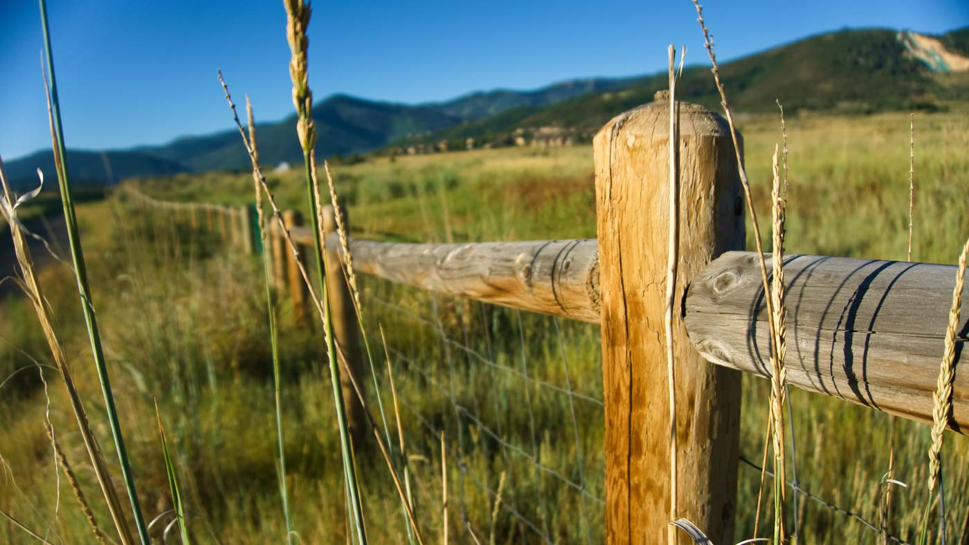 Adobe Stock Ranch Fence Post